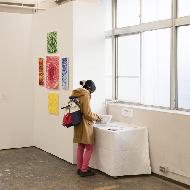 嵯峨美術短期大学 制作展オープンキャンパス3