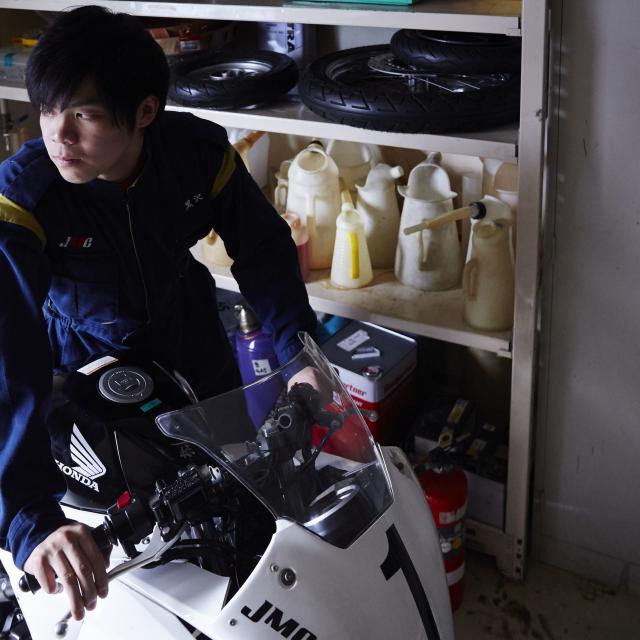 バイクの整備、点検してみよう!【モーターサイクルコース】