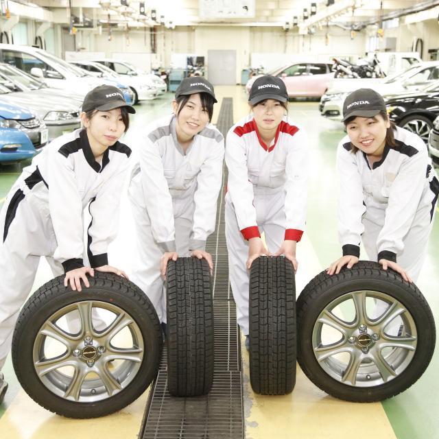 Girl's Honda - 先輩女子の働く姿を見に行こう!