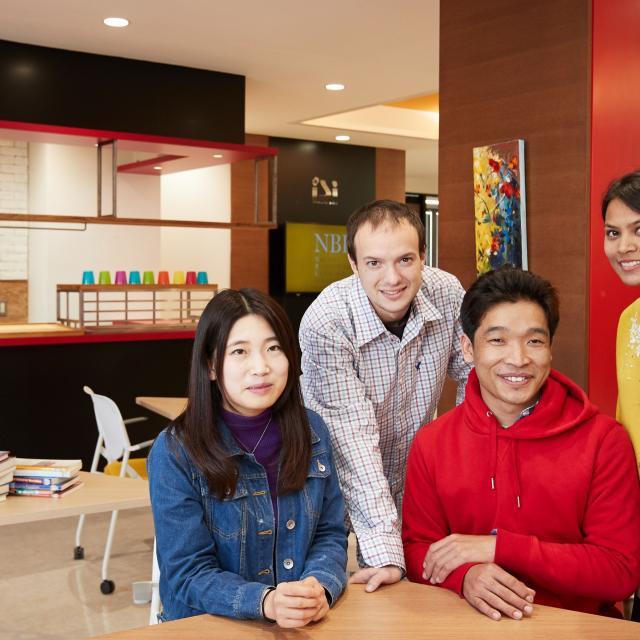 専門学校 長野ビジネス外語カレッジ 語学を学ぶインターナショナルなキャンパスを見てみよう4