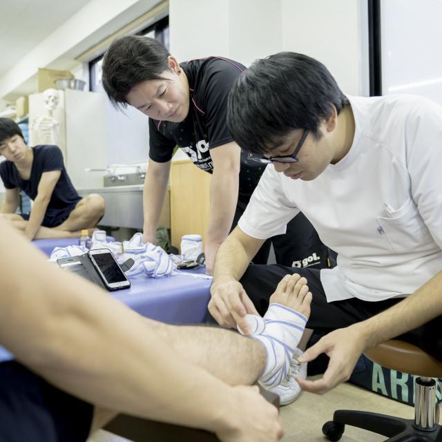アルファ医療福祉専門学校 柔道整復学科 オープンキャンパス2