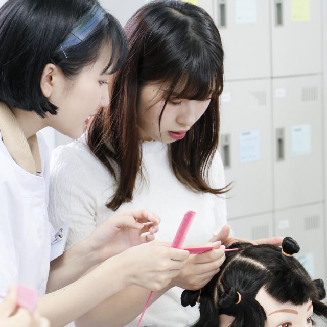 国際文化理容美容専門学校渋谷校 体験入学会4