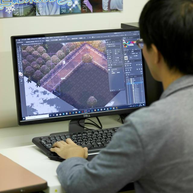 名古屋デザイナー学院 10月開催【ゲーム・CG学科】 ゲームの世界を作っていこう!2