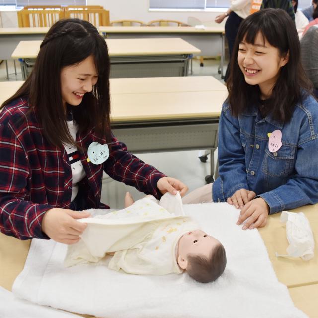 横浜保育福祉専門学校 高校2年生のためのプチオープンキャンパス1