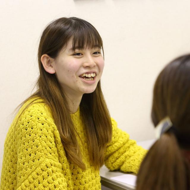 理学・作業名古屋専門学校 在校生の先輩と体験授業DAY3