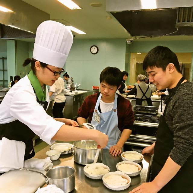 光塩学園調理製菓専門学校 【調理コース】☆3月のオープンキャンパス☆2