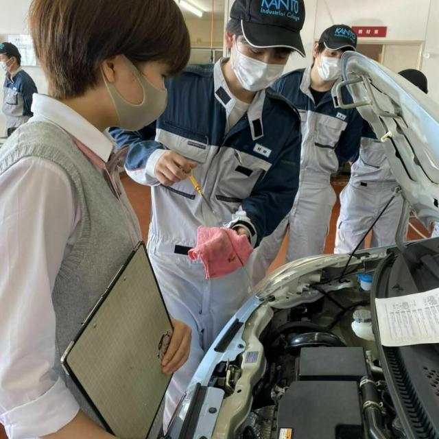 関東工業自動車大学校 【オープンキャンパス】在校生による模擬授業体験!3