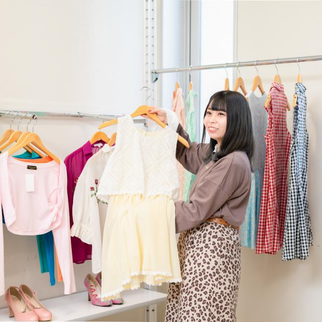 華服飾専門学校 ファッションコーディネート体験1