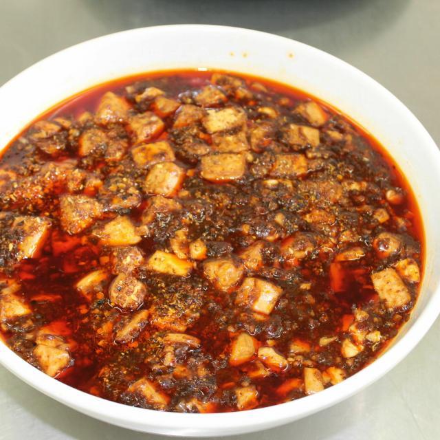 悠久山栄養調理専門学校 中国料理の定番☆麻婆豆腐1
