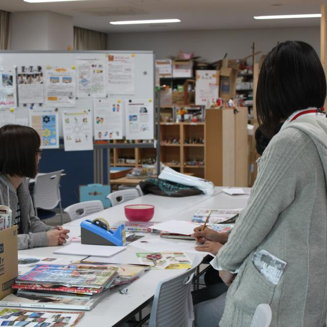 札幌国際大学 【心理学科】心の中をのぞいてみよう!4