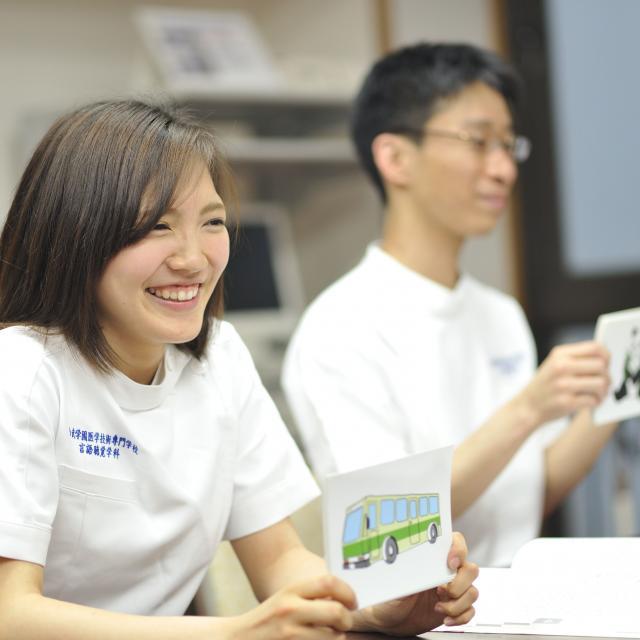西武学園医学技術専門学校 東京池袋校 オープンキャンパス(言語聴覚学科)言語聴覚士に必要な口腔ケア2