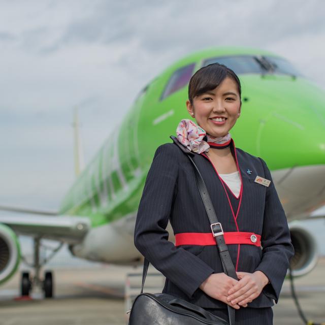 西鉄国際ビジネスカレッジ CA・GS・GH…航空業界の全職種をお仕事体験スペシャル1