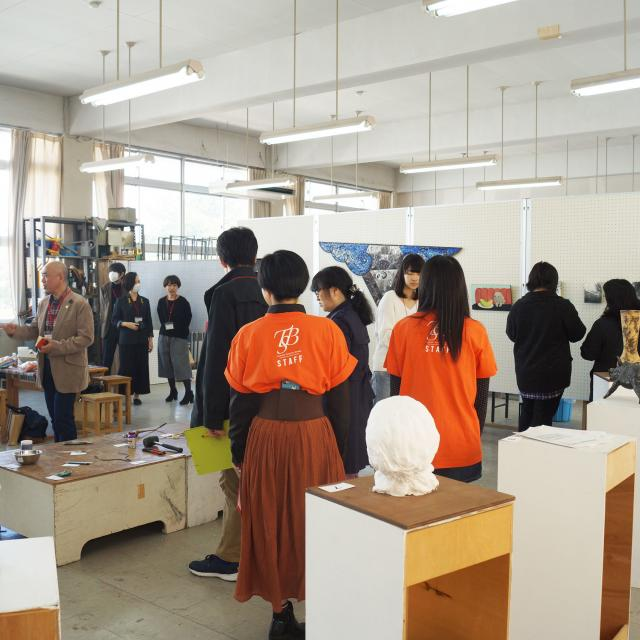 東北生活文化大学 1,2年生のためのオープンキャンパス(美術学部 美術表現学科)2