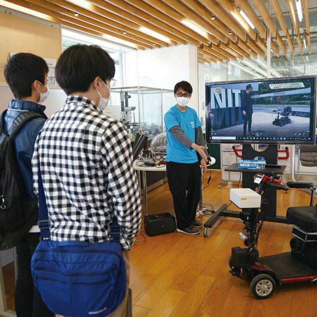 日本工業大学 来場型オープンキャンパス1