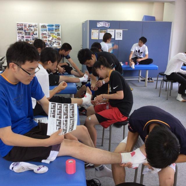 大阪社体スポーツ専門学校 ★公務員系体験模擬授業★2