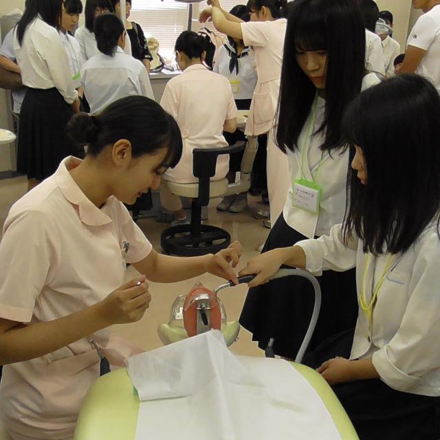 専門学校 福山歯科衛生士学校 オープンスクール3
