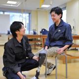 オープンキャンパス(義肢装具学科)体験用義肢の詳細