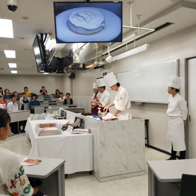 東日本製菓技術専門学校 体験&説明会1
