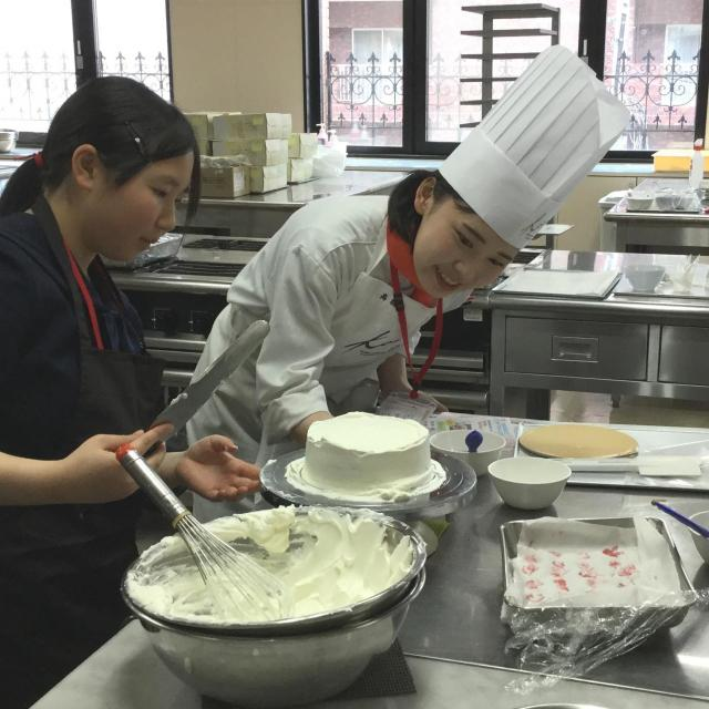 光塩学園調理製菓専門学校 【製菓コース】☆3月のオープンキャンパス☆3