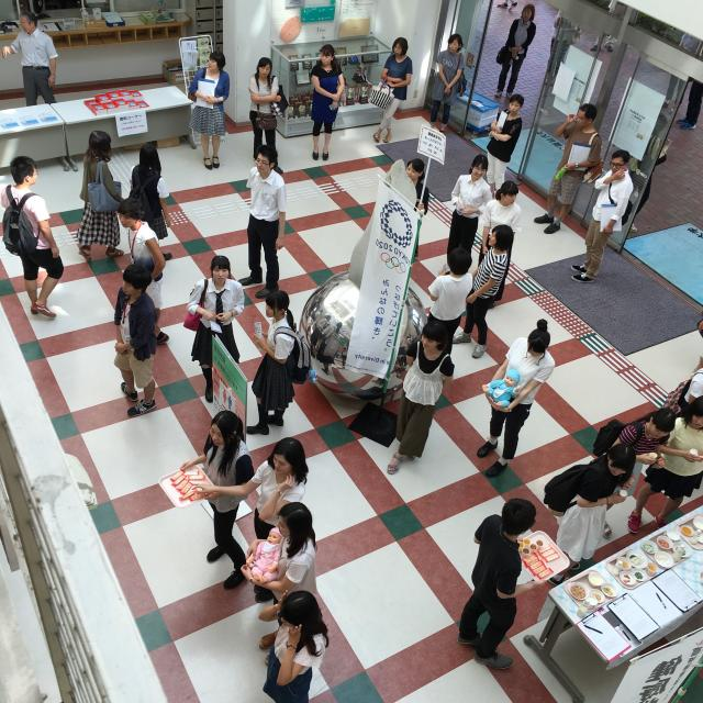高崎健康福祉大学 【健康栄養学科】夏のオープンキャンパス3