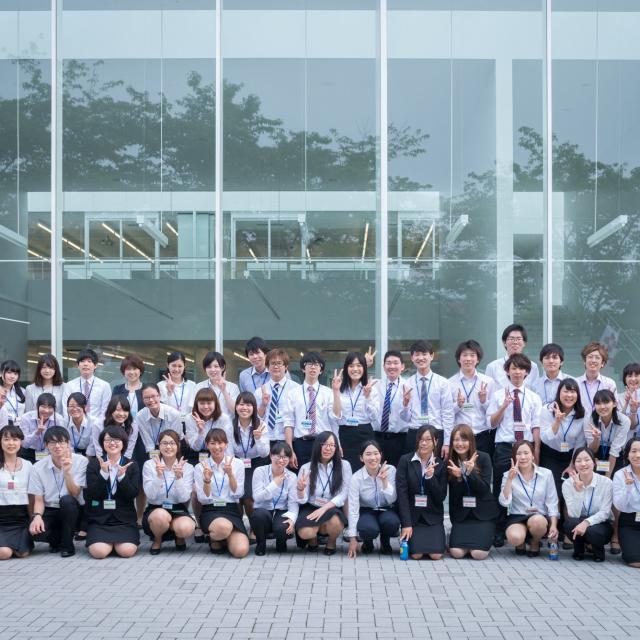 共愛学園前橋国際大学 「学生広報スタッフ」が企画運営!本学自慢のオープンキャンパス4