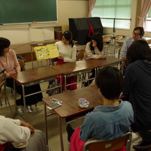 東京保育専門学校 夜の進学相談会1