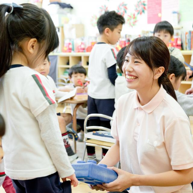 大阪保育福祉専門学校 お正月遊びを楽しもう♪3