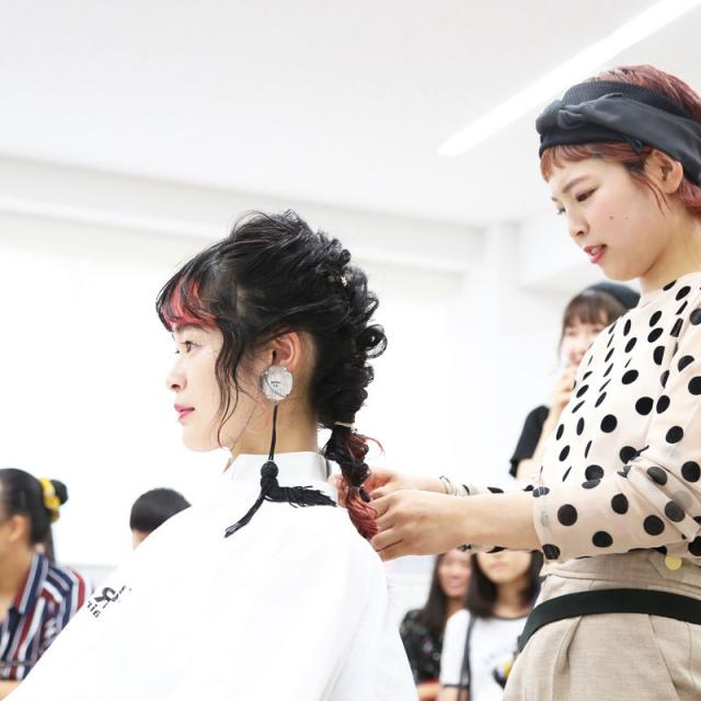 名古屋美容専門学校 NAGOYA BIYO・OPEN CAMPUS ′19!4