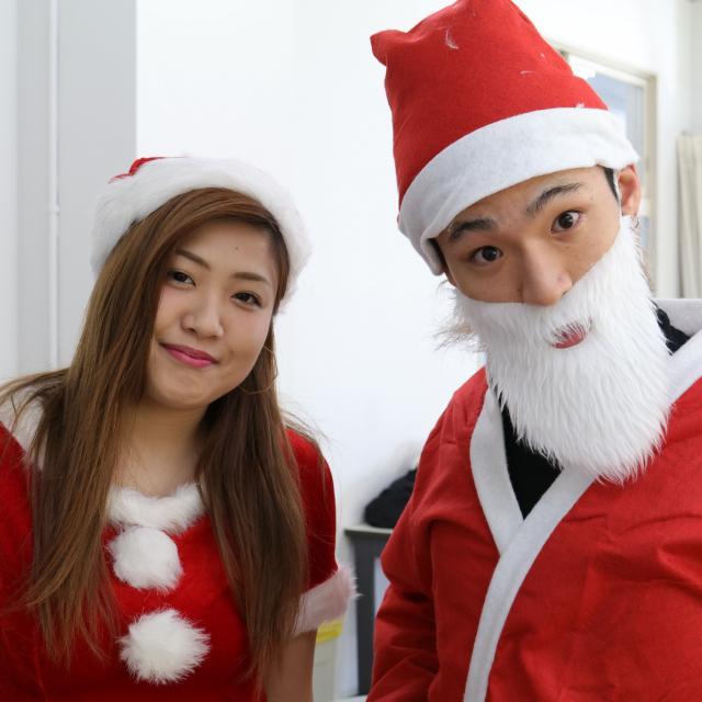 名古屋理容美容専門学校 男性共に盛り上がる!クリスマスイベント!2
