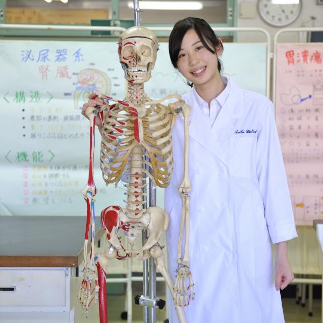 西武学園医学技術専門学校 夜の学校説明会 臨床検査技師科3