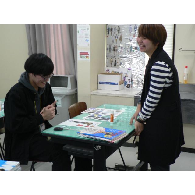 大阪文化服装学院 Xmasイベント + アナタの好きをイメージマップで表現☆1