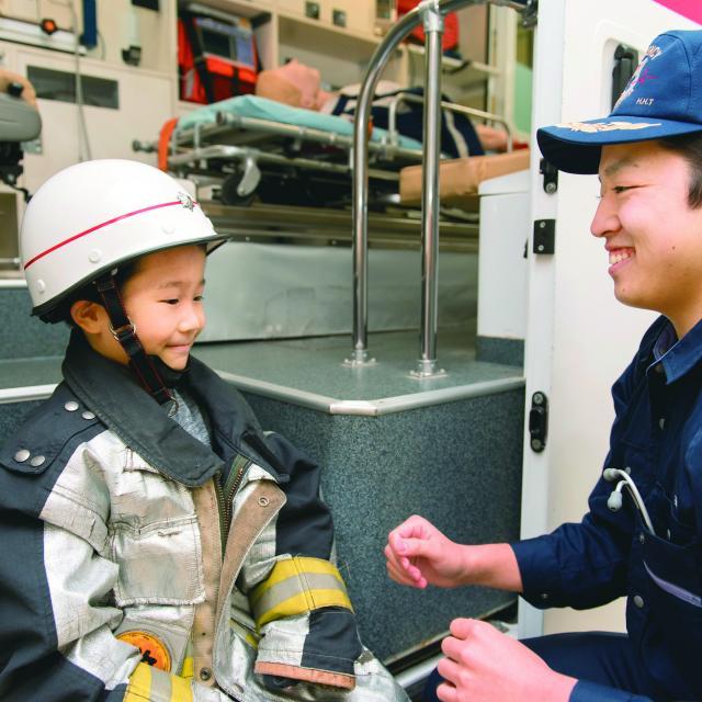 北海道ハイテクノロジー専門学校 日本初救命士養成校!道内救命士の70%がハイテク卒業生!3
