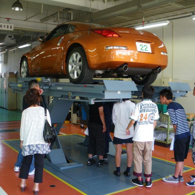 専門学校 第一自動車大学校 整備士への道はココからOpenCampus2017開催1