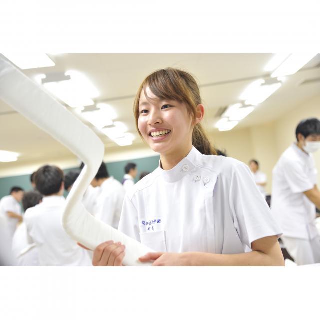 関西医療学園専門学校 お年寄りの味方!地域の健康に役立つ・やりがいを感じたい。2