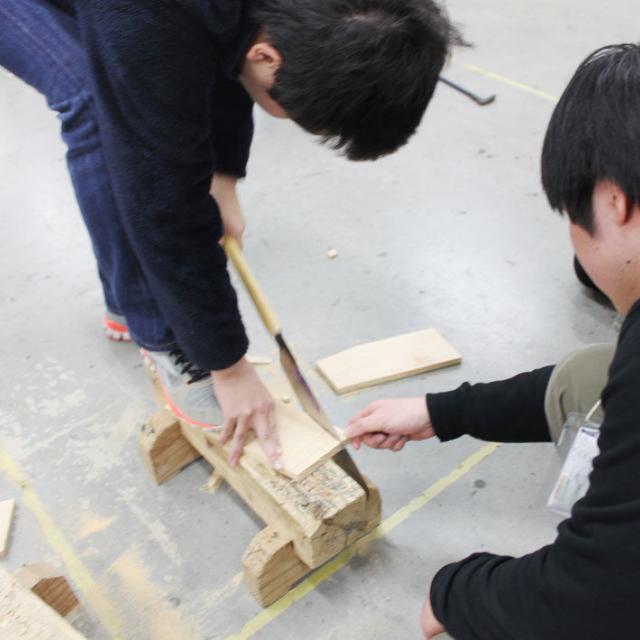 大阪工業技術専門学校 【大工技能学科】☆体験型オープンキャンパス☆3