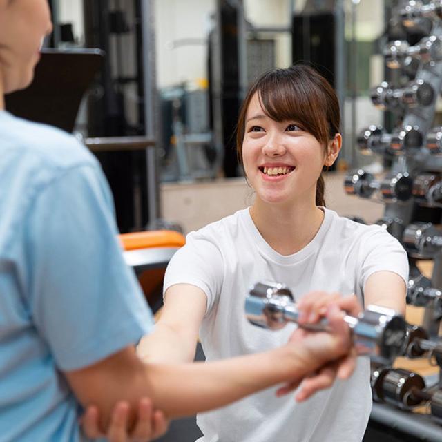 福岡医健・スポーツ専門学校 スポーツ科学科 スポーツトレーナー体験1