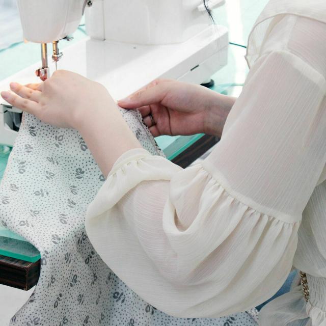 目白ファッション&アートカレッジ ◆来校型◆ミシンを使ったスカートづくりに挑戦!2