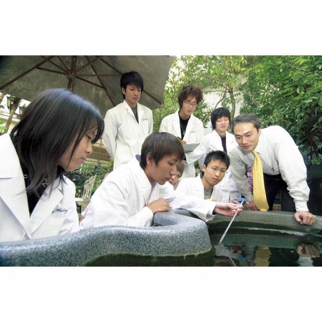 大阪建設専門学校 【環境・バイオ系】3次元CADでつくるビオトープ20191