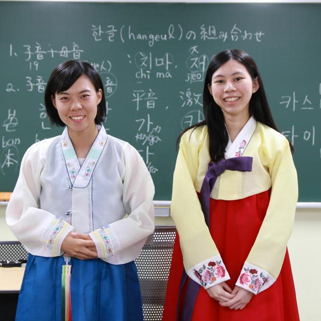 広島外語専門学校 広島外語 7/22(木・祝)オープンキャンパス ハングル篇2