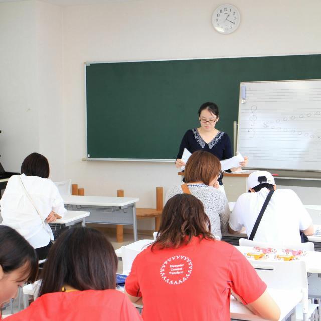 東京YMCA社会体育・保育専門学校 【工作・伝承あそび体験】作って遊ぼう!3