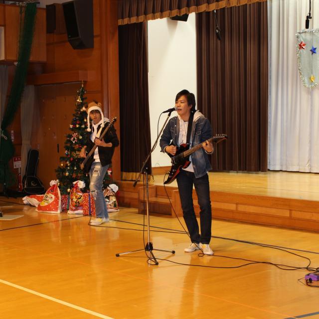 群馬社会福祉専門学校 GUNSHAのクリスマス会2