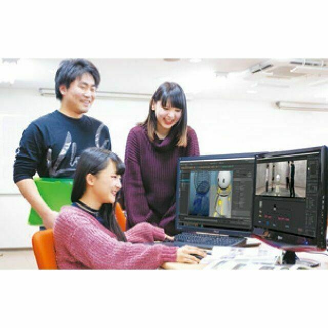日本電子専門学校 【CG映像制作科】オープンキャンパス&体験入学3