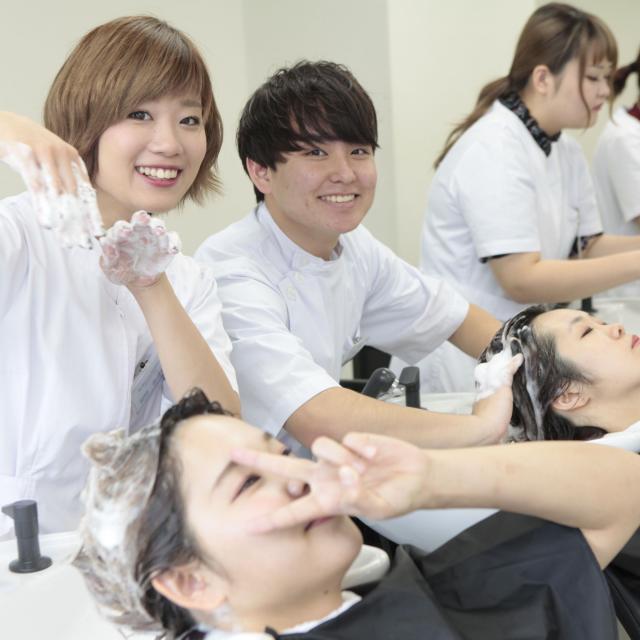 国際文化理容美容専門学校国分寺校 学校見学会1