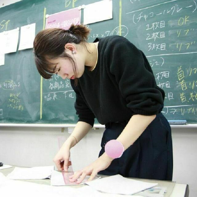 マロニエファッションデザイン専門学校 【来校】テーパードパンツ制作体験4