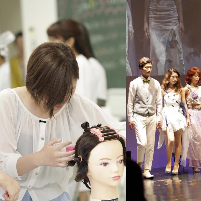 国際文化理容美容専門学校国分寺校 特別体験入学会★いつもよりバージョンアップしたヘアショー!4