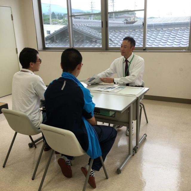 長野救命医療専門学校 2018年度オープンキャンパス開催!救急救命士の仕事体験3