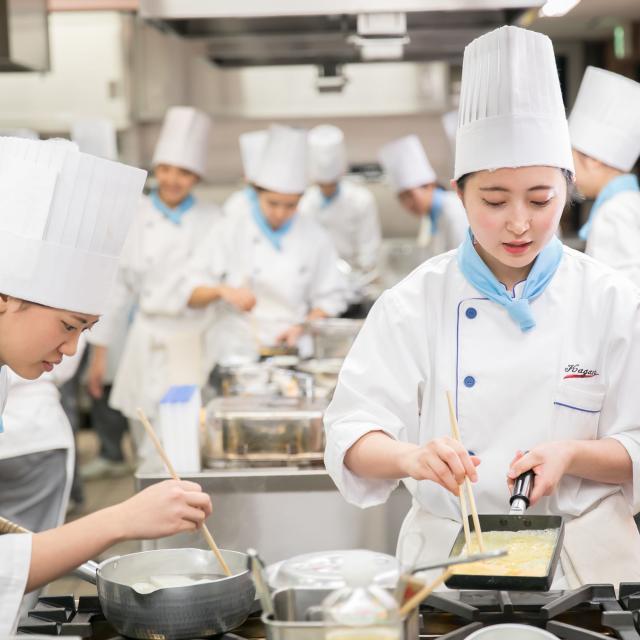 香川調理製菓専門学校 体験入学セミナー(調理コース)2