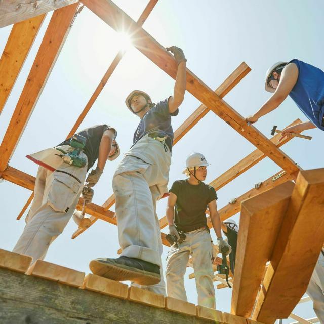 新潟工科専門学校 大工や、家づくりに興味がある方へ!【木材加工!大工体験】2