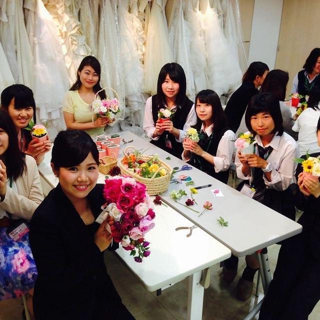 横浜ビューティー&ブライダル専門学校 【ブライダル】ウェディングドレスを着れる☆高校2年生も歓迎♪2