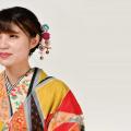 織田きもの専門学校 「梅のかんざし作り&アンティークきもの着付体験」